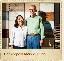 Beekeepers Mark And Thien Gretchen